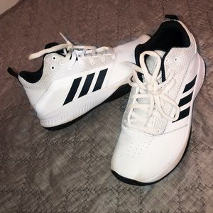 Adidas white shoes
